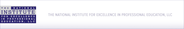 The National Institute for Excellence in Professional Education